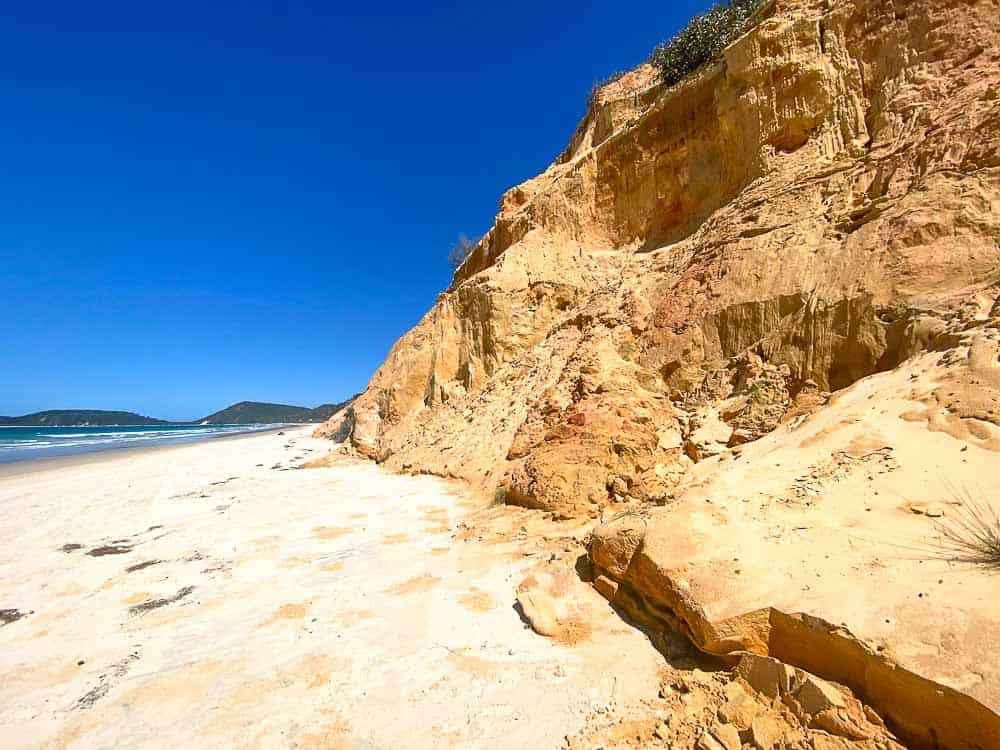 Things to do in Rainbow Beach - Coloured Sands
